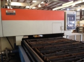 2D/3D laser cutting MAZAK SUPER TURBO X510 (USED)