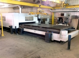 2D/3D laser cutting MAZAK HYPER GEAR 612 4 KW (USED)