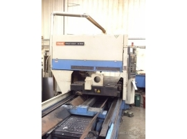 Tube & pipe laser cutting MAZAK SPACE GEAR 48 MARK II 2.5KW (USED)