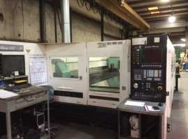 2D/3D laser cutting MAZAK HYPER GEAR 612 (USED)