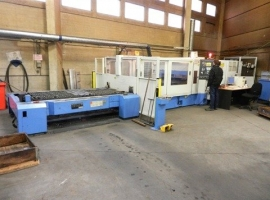 2D/3D laser cutting MAZAK SUPERTURBO X48 MK II 4KW (USED)