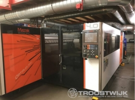 2D/3D laser cutting MAZAK OPTIPLEX 3015 II 4KW (USED)